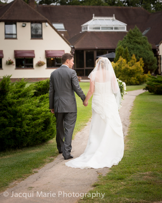 Forest park golf course wedding